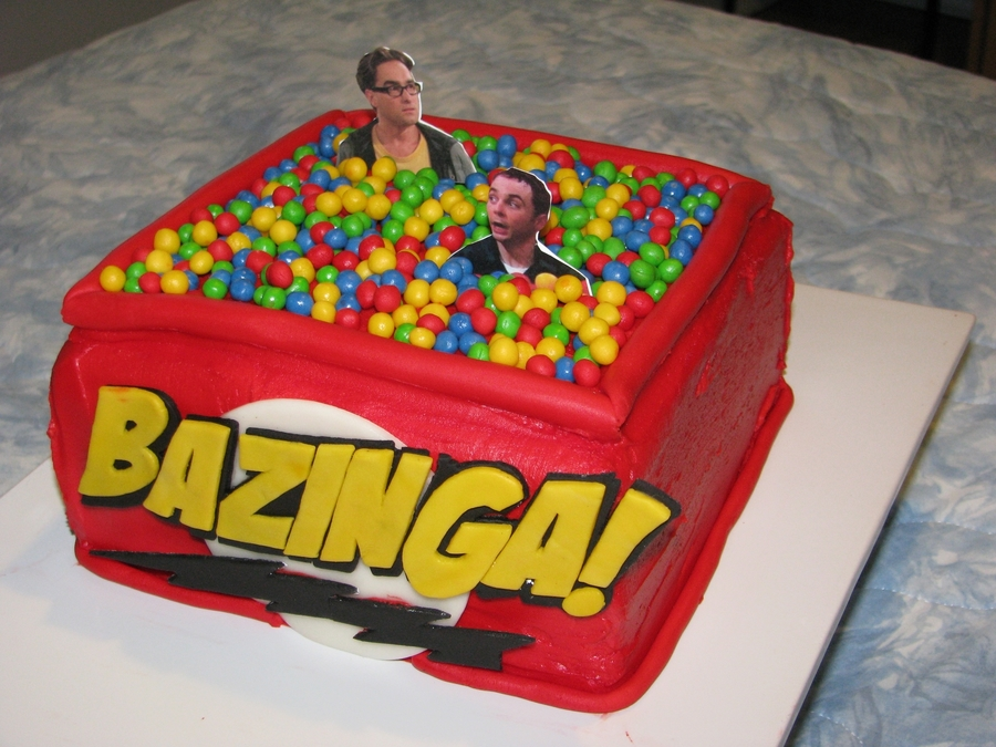 Big Bang Theory Cake on Cake Central