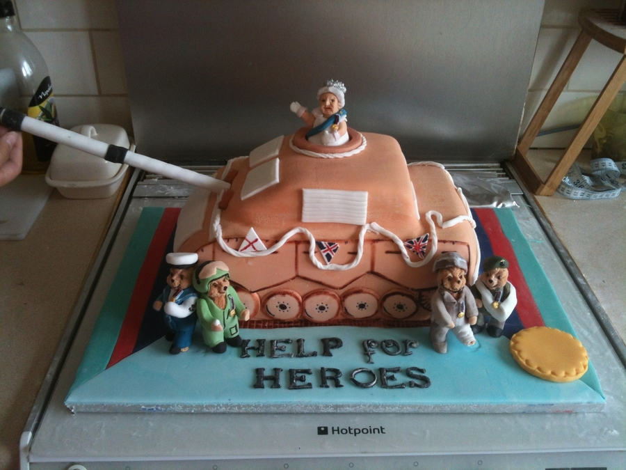 Help For Heros on Cake Central