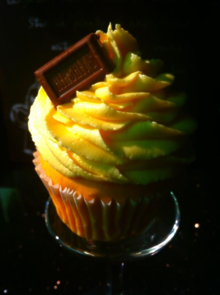 Single Serving Orange Cupcake  on Cake Central