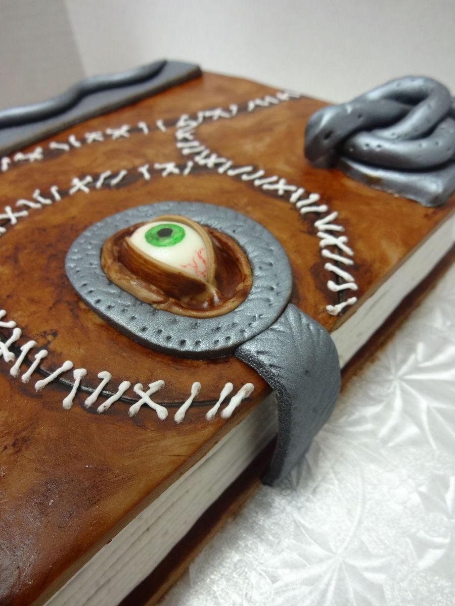 Hocus Pocus Spell Book - CakeCentral.com