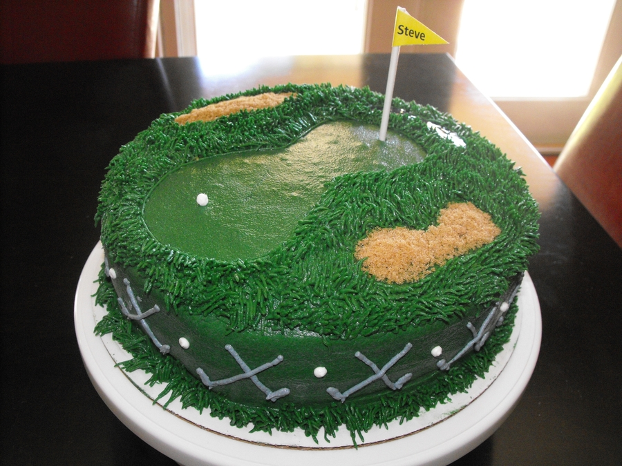 Golf Course Cake on Cake Central