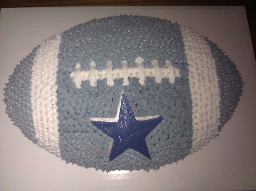 Dallas Cowboy Football Cake on Cake Central