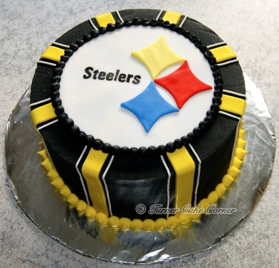 steelers birthday cake steelers birthday cake cakecentral 7699