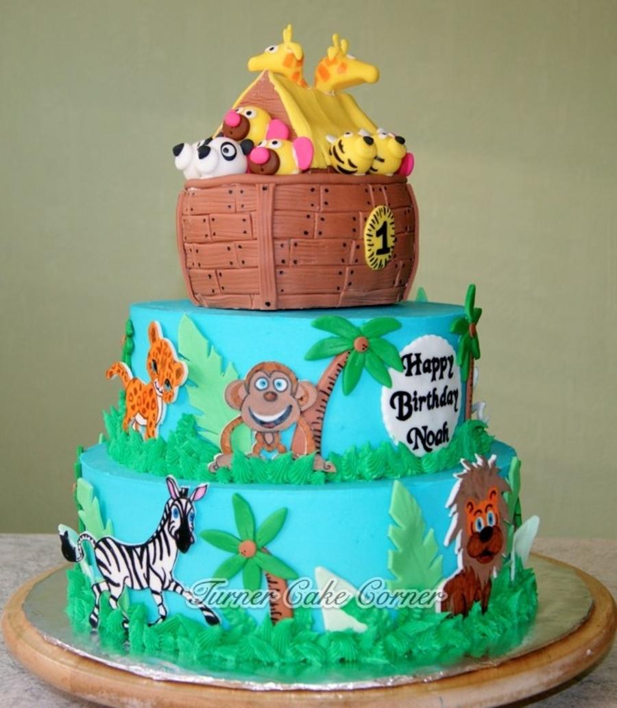Noah S Ark Birthday Cake Cakecentral Com