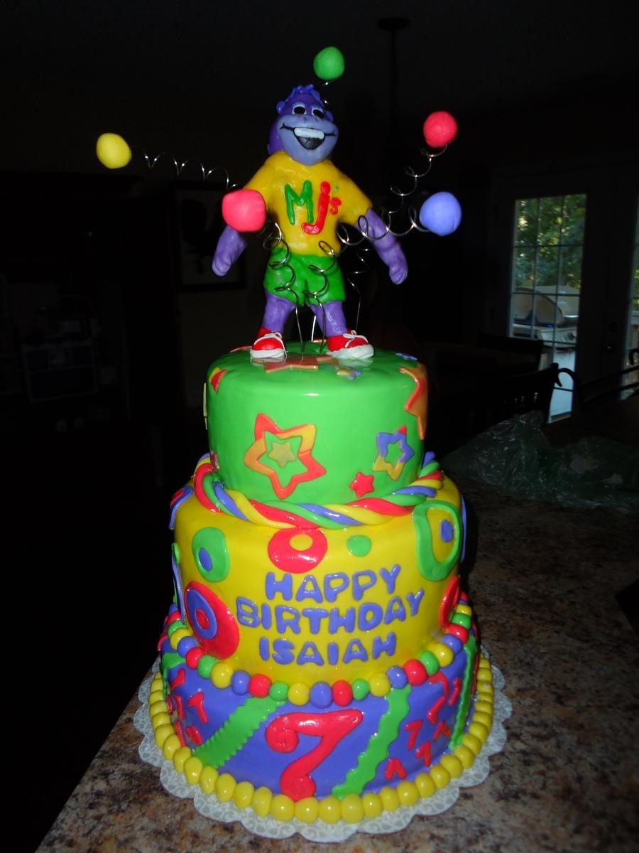 Sensational Monkey Joes Birthday Cake Cakecentral Com Personalised Birthday Cards Paralily Jamesorg