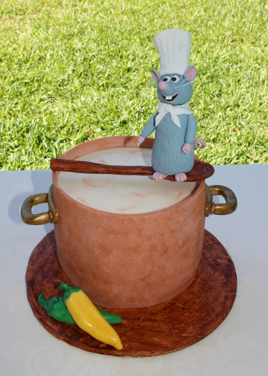 Ratatouille Birthday Cake Cakecentral Com