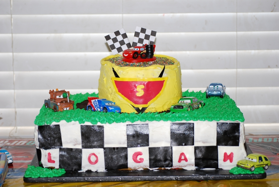 Cars Birthday Cake on Cake Central