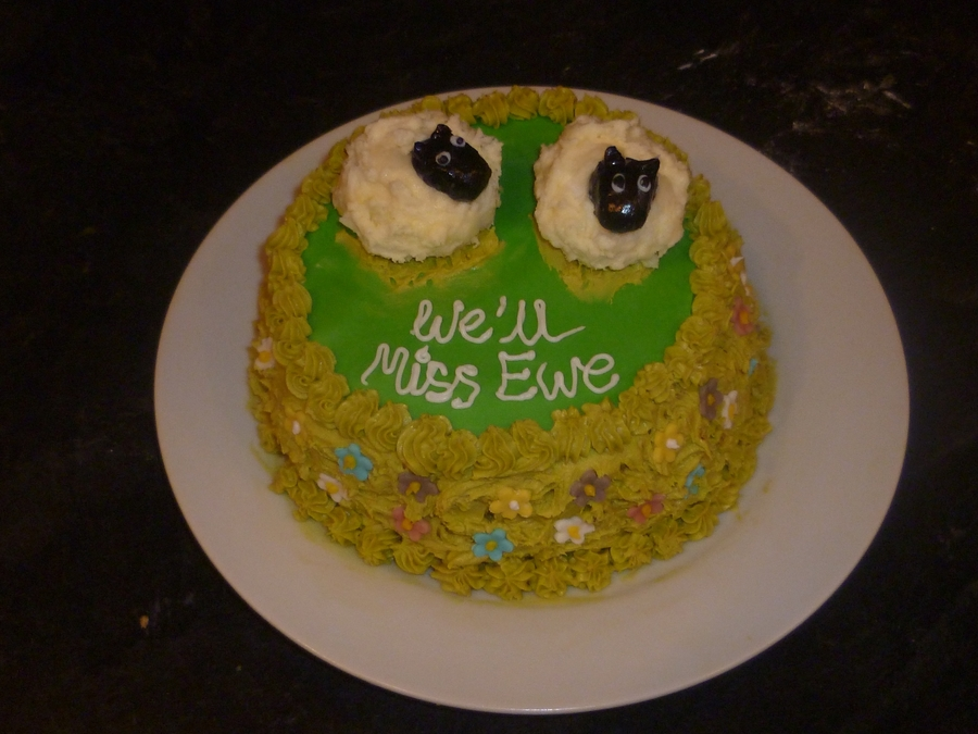 We'll Miss Ewe on Cake Central