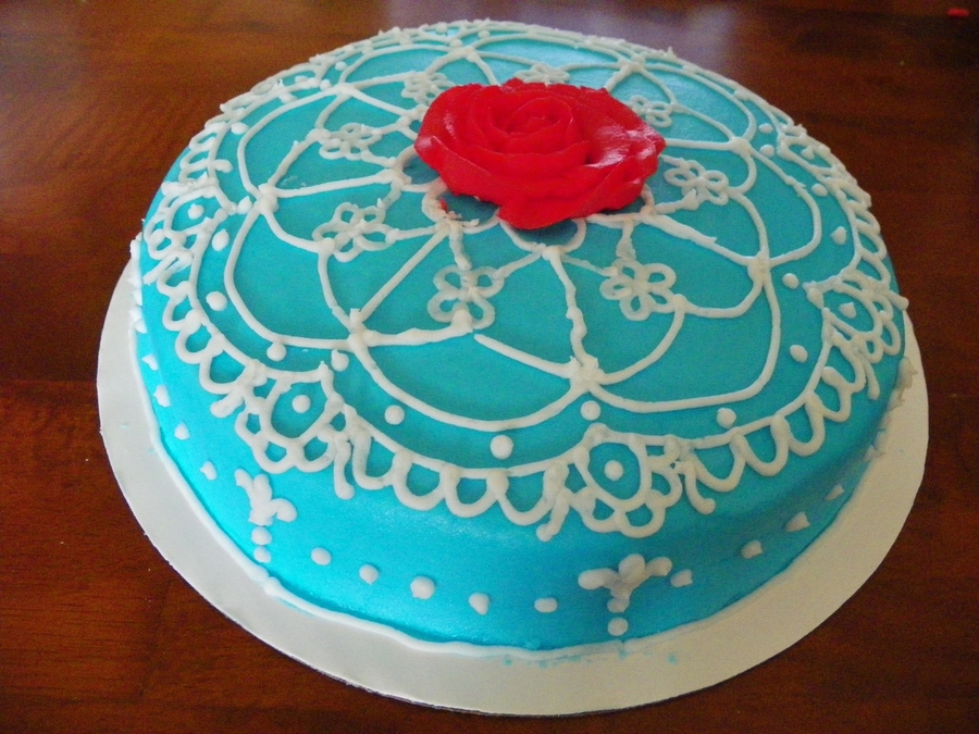 Blue And Lace on Cake Central