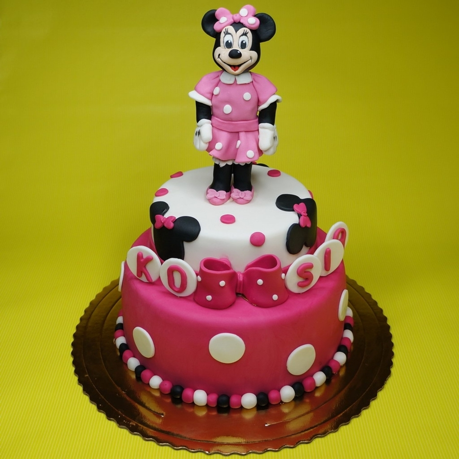 Disney's Minnie Mouse Cake on Cake Central