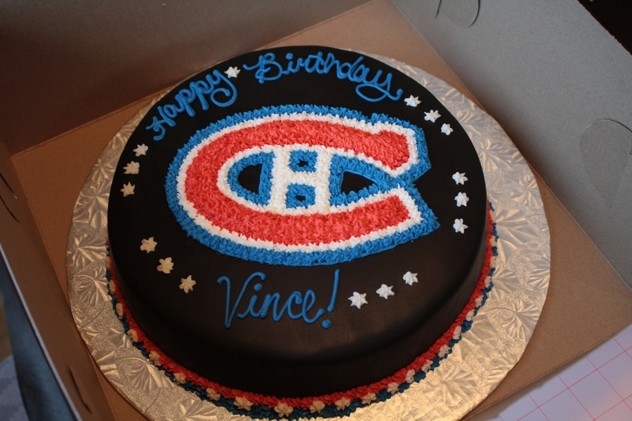 Montreal Canadians Cake on Cake Central