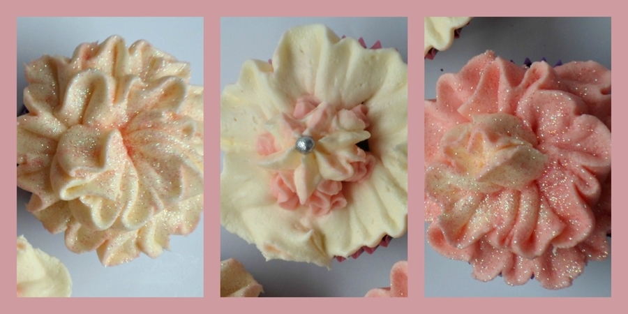 Flower Trio Cupcakes on Cake Central