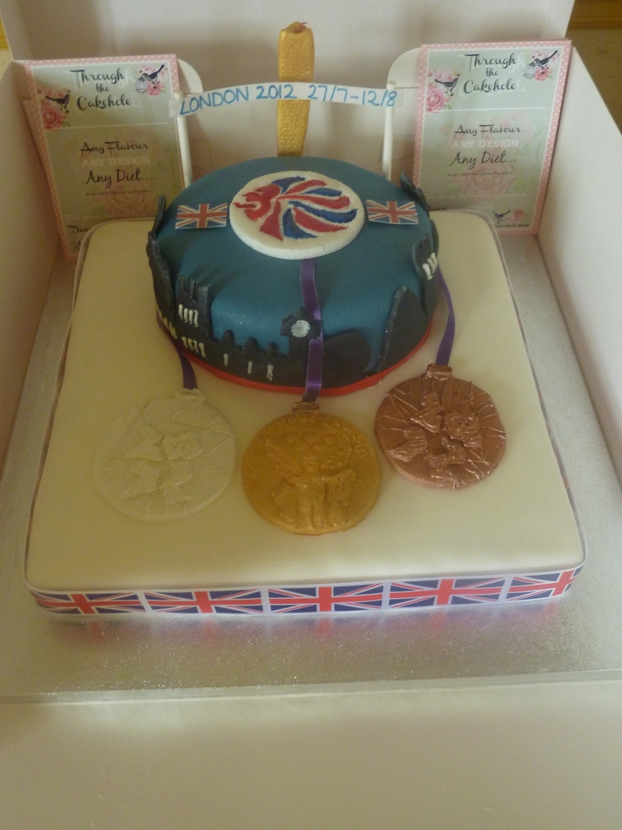 London 2012 Olympic Cake  on Cake Central