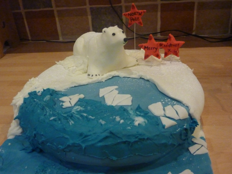 Polar Bear on Cake Central