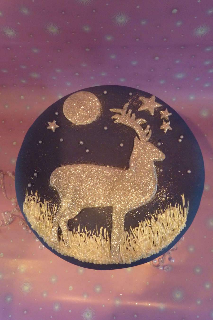 We Went For A Bit Of Sparkle on Cake Central