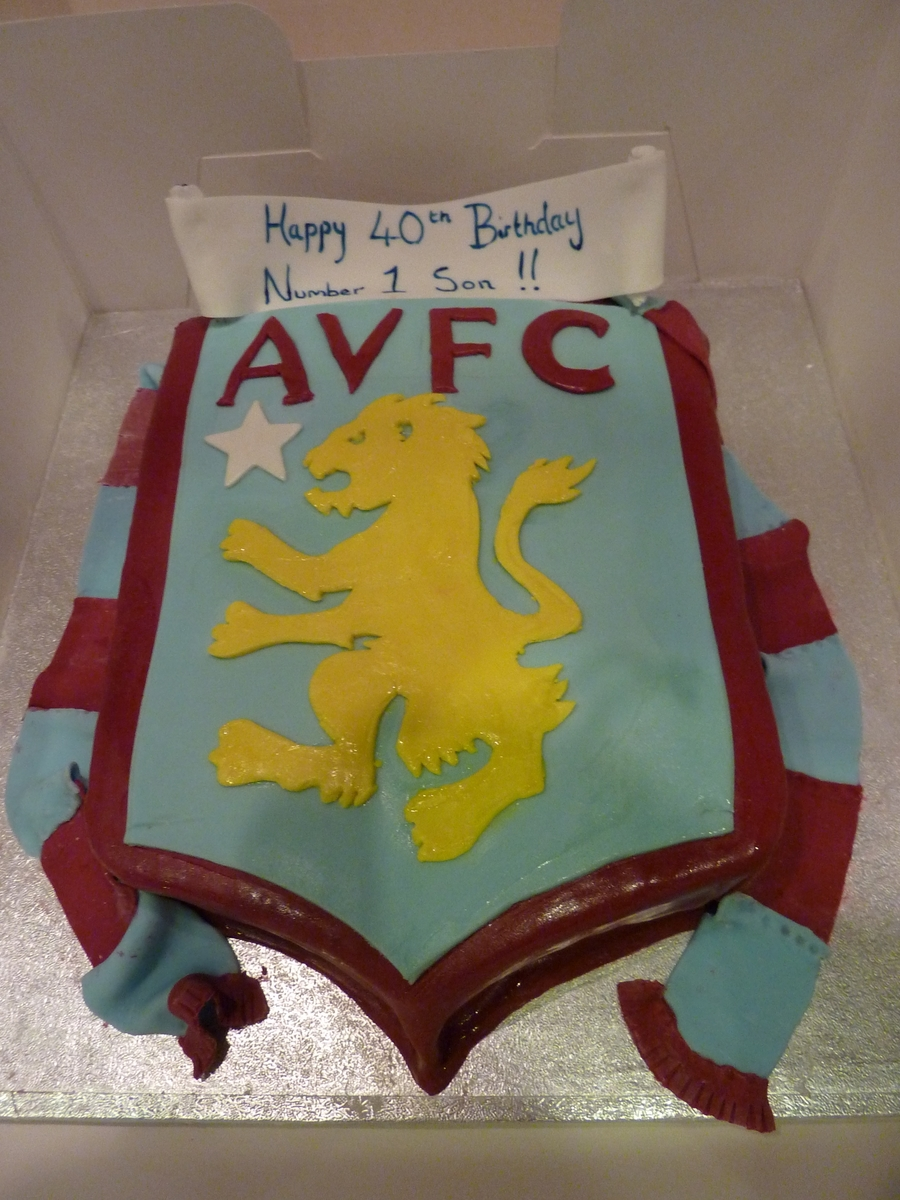 Aston Villa on Cake Central