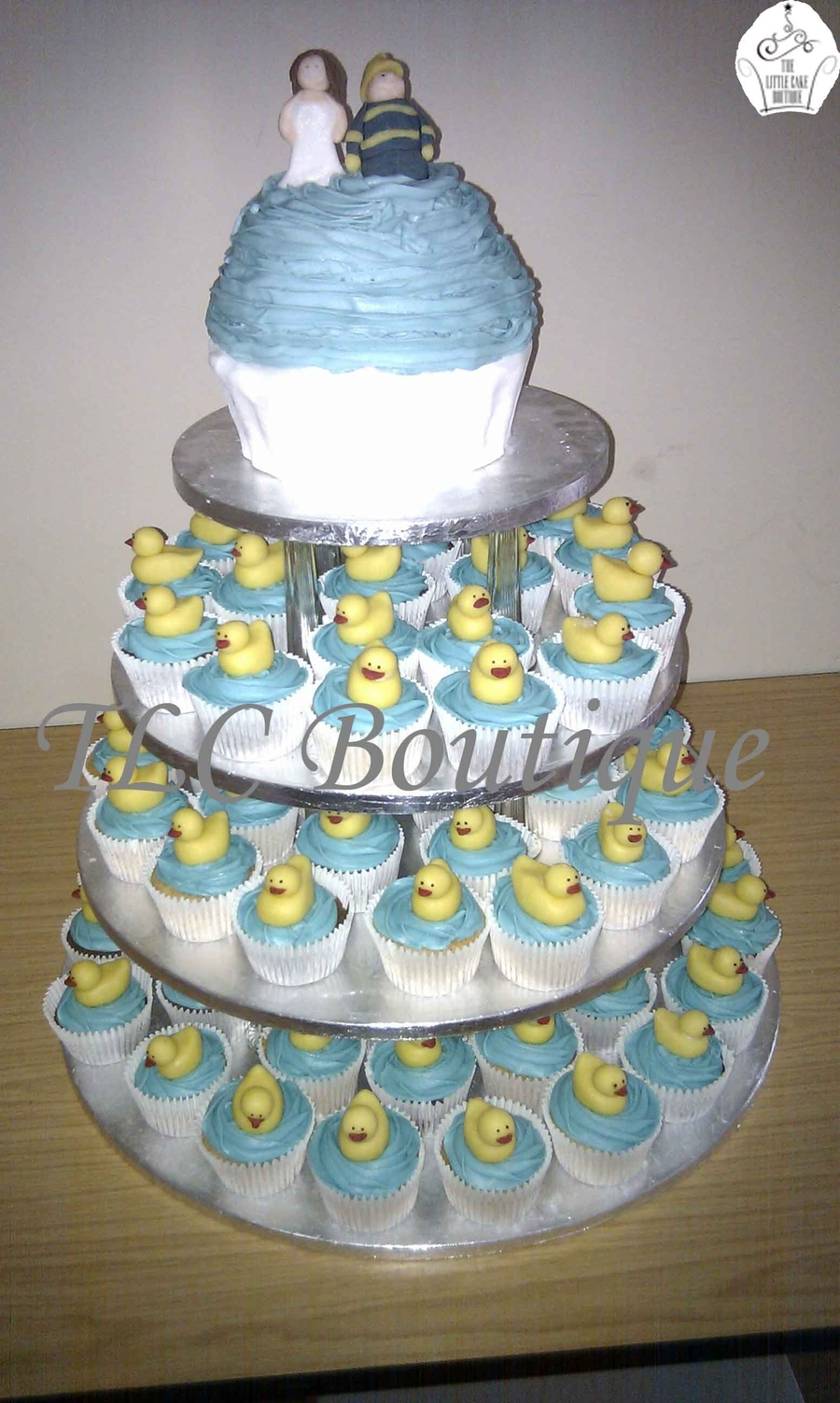 Rubber Duck Wedding Cupcakes on Cake Central