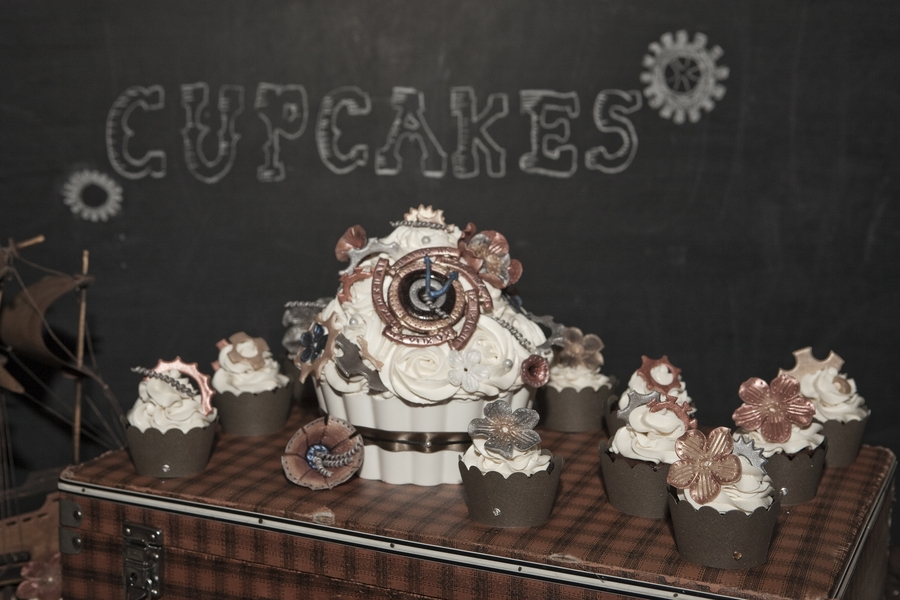 Steampunk Wedding on Cake Central