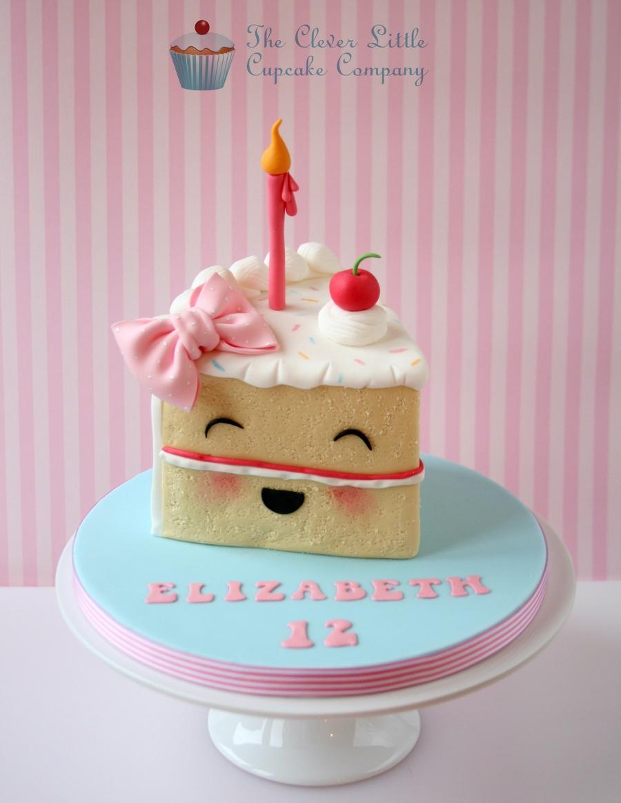 Images Of Birthday Cake Slices : Birthday Cake Slice - CakeCentral.com