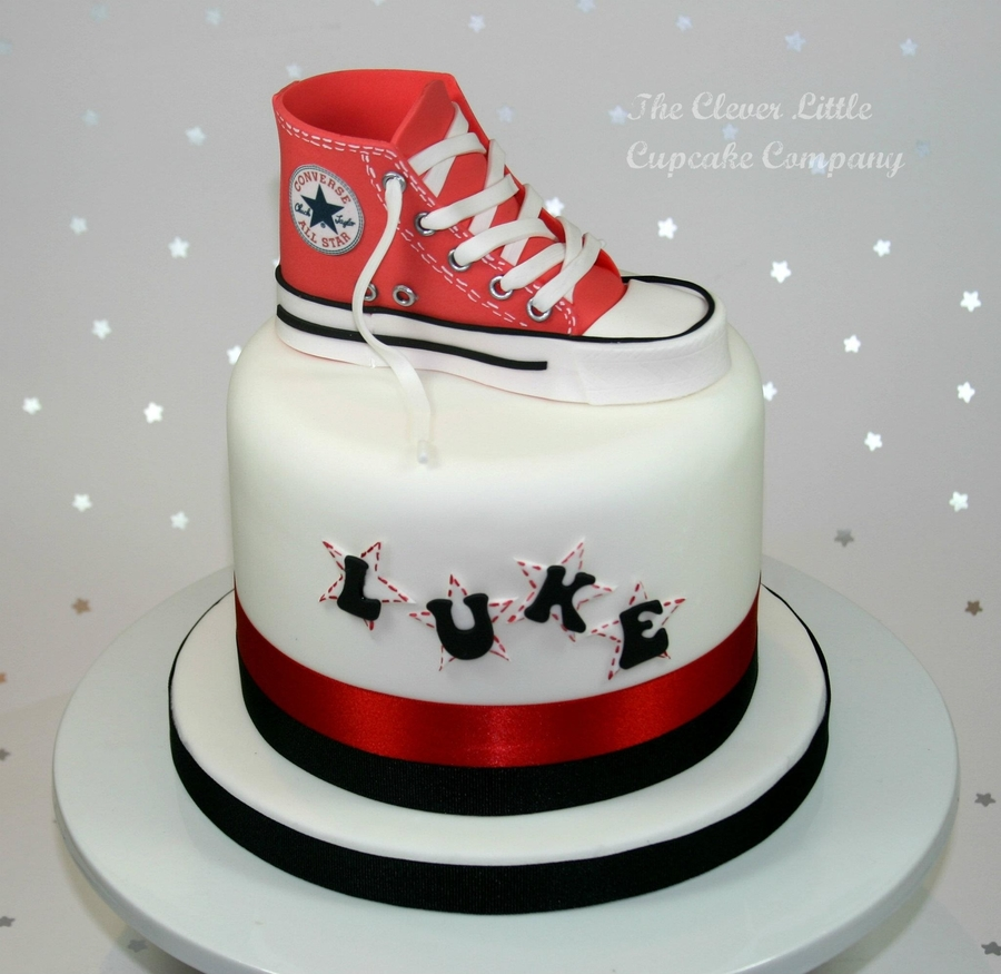 Converse Boot Celebration Cake on Cake Central