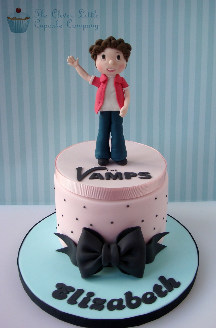 The Vamps Birthday Cake Cakecentral Com