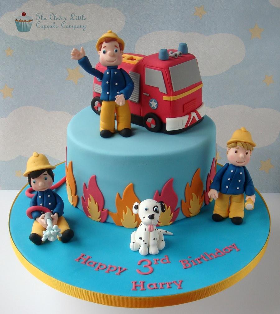 Fireman Sam Friends Cake Cakecentral