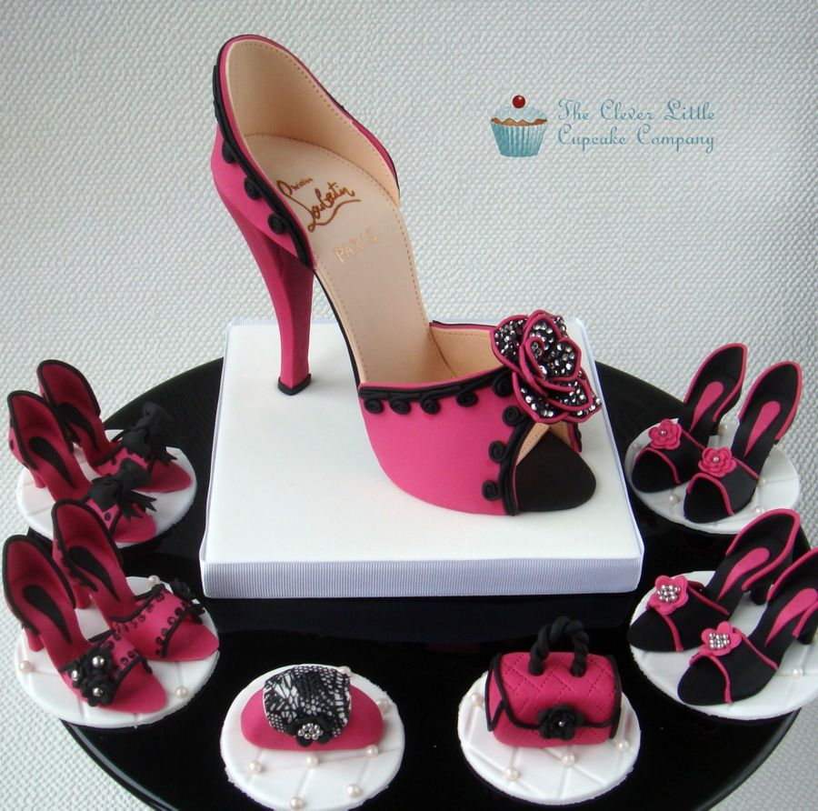 pink shoe cake topper cakecentral