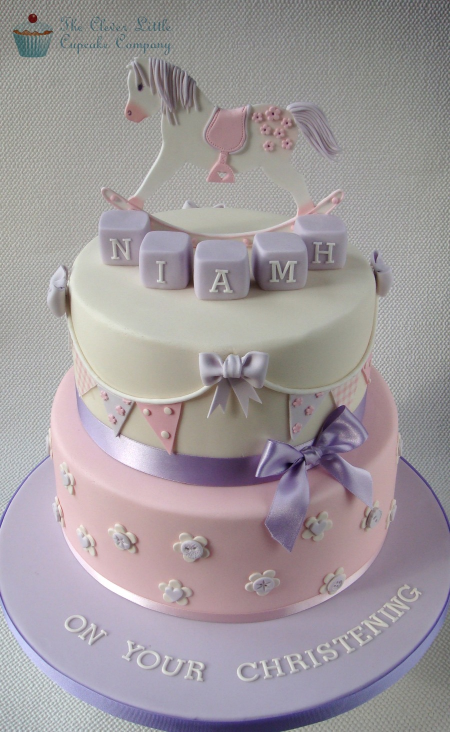 Rocking Horse Christening Cake Cakecentral Com