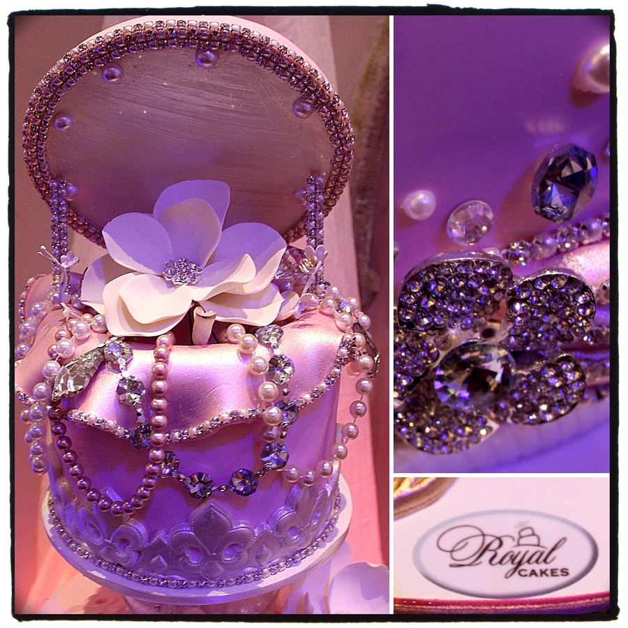 Jewelry Box Cake Topper...just Fabulous! on Cake Central