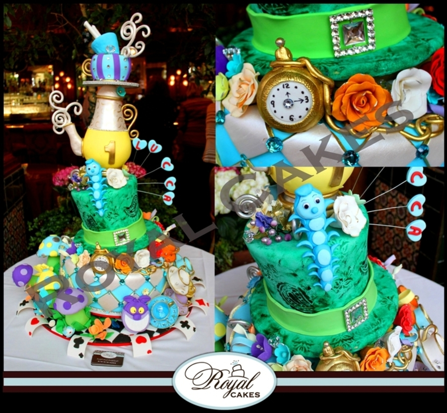 The Wonderful World Of Alice! on Cake Central