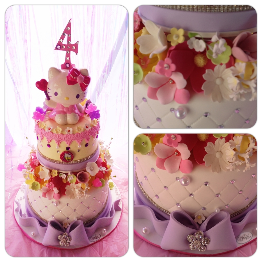 Hello Kitty! on Cake Central