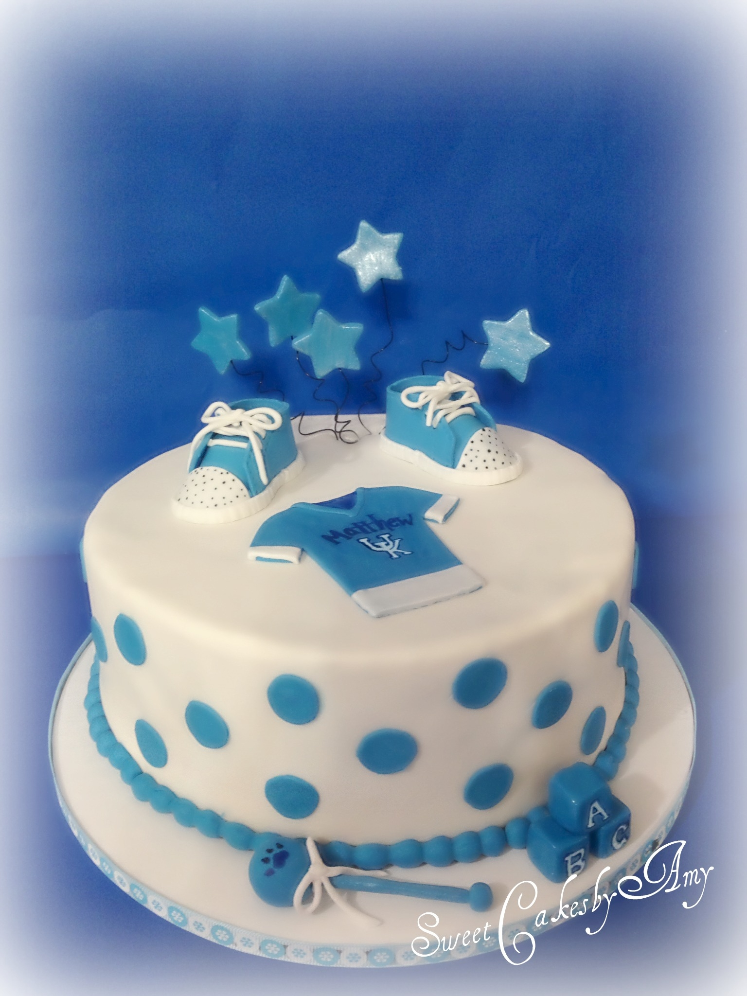 Uk Baby Shower Cake CakeCentral