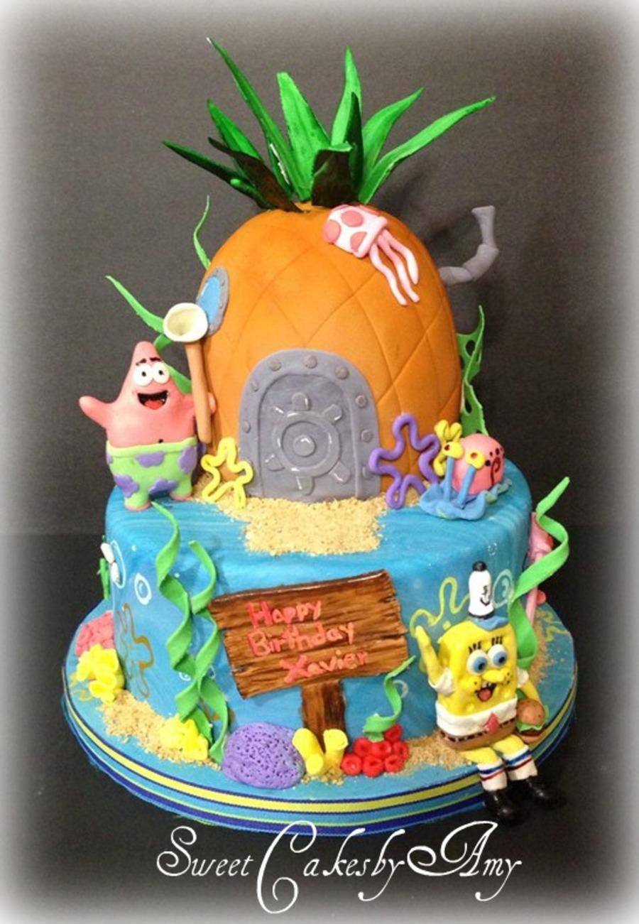 Happy Birthday Cake Spongebob