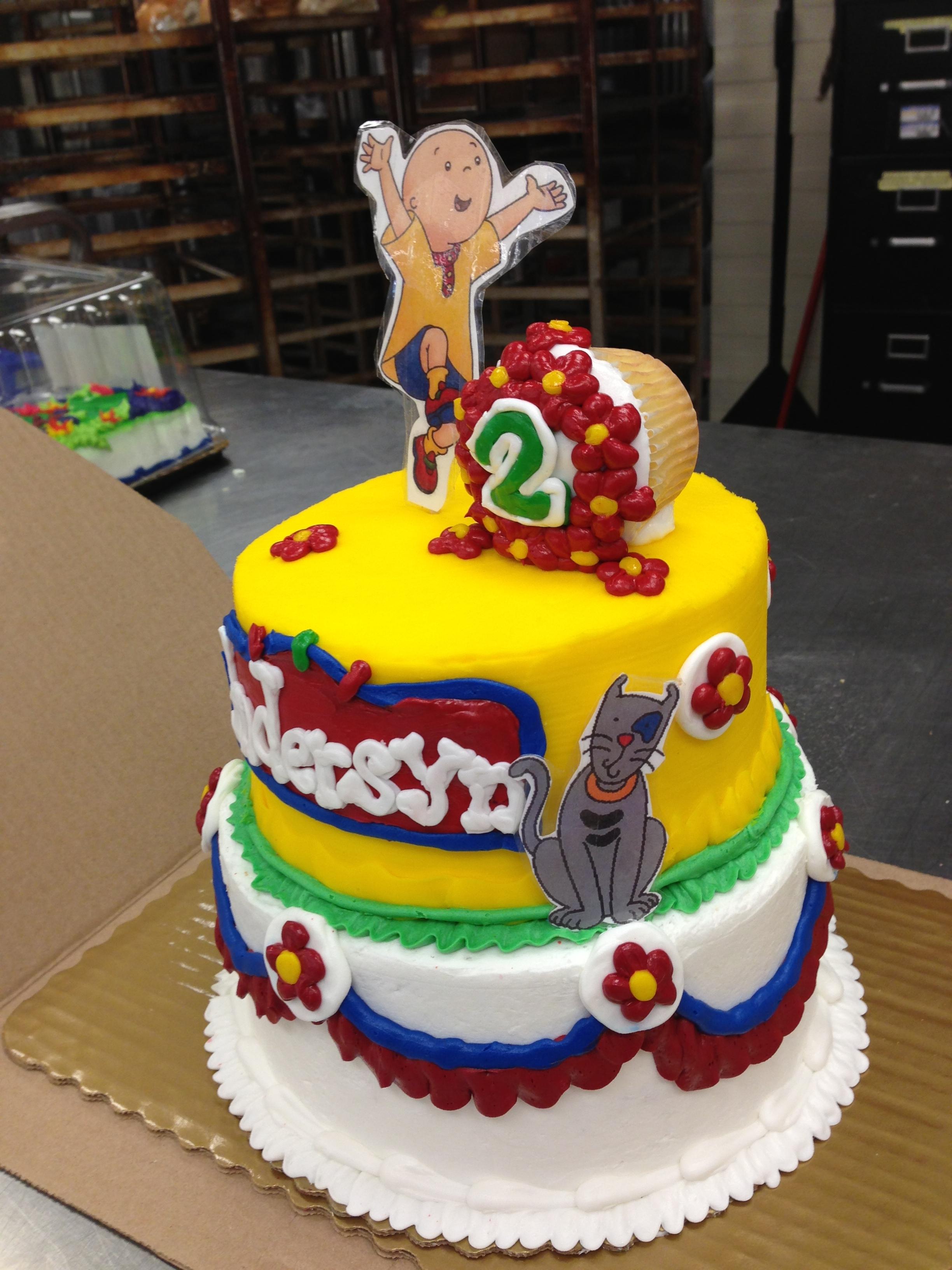 Caillou Cake CakeCentralcom