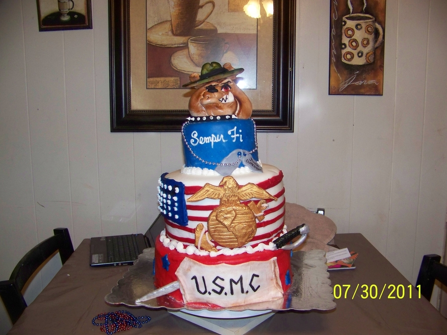 My Marine on Cake Central