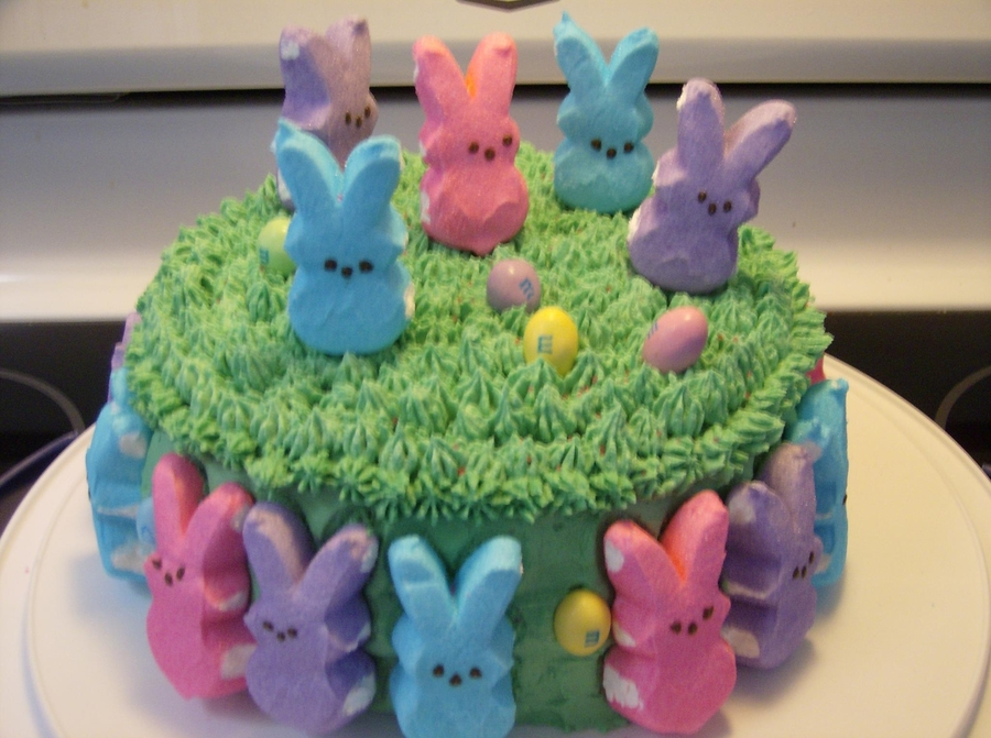 Peeps Cake on Cake Central