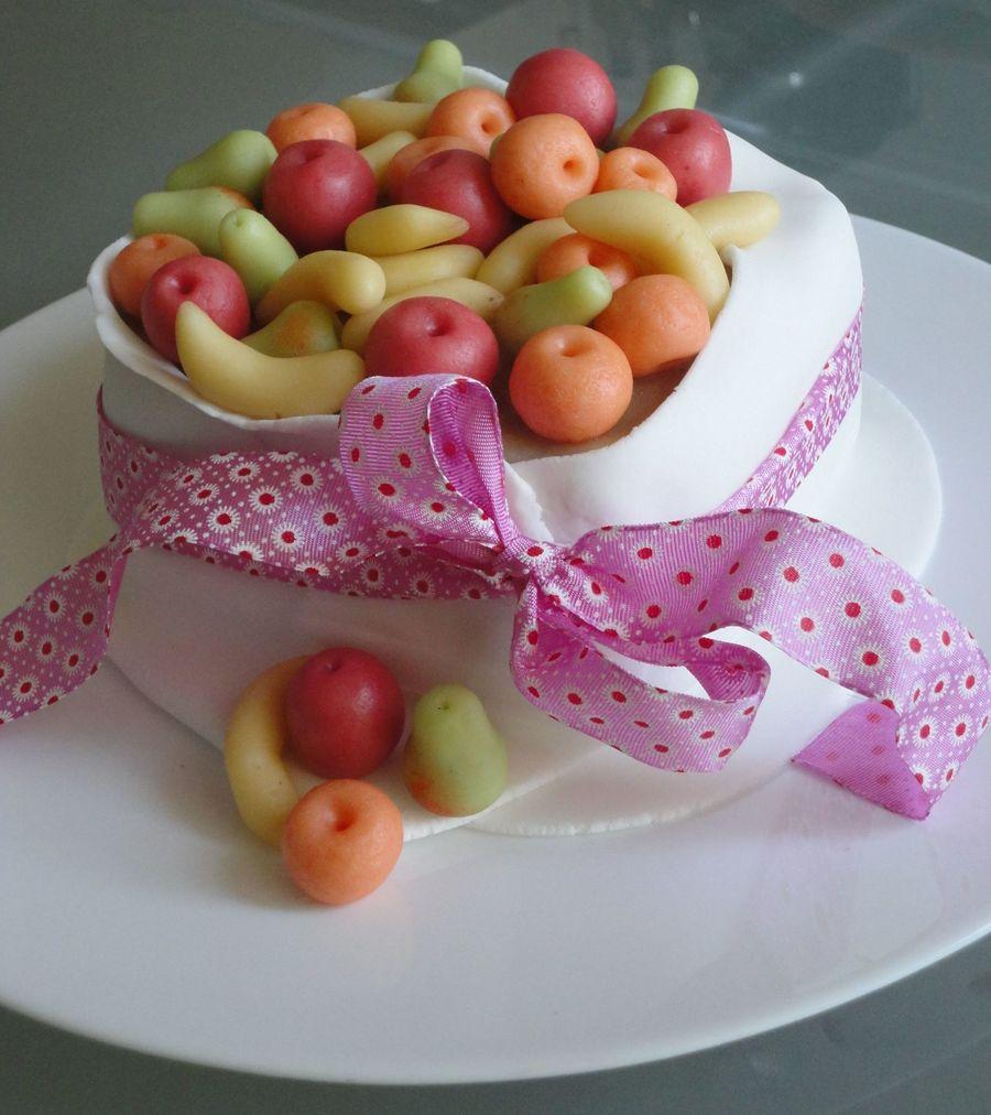 Marzipan Birthday Cake