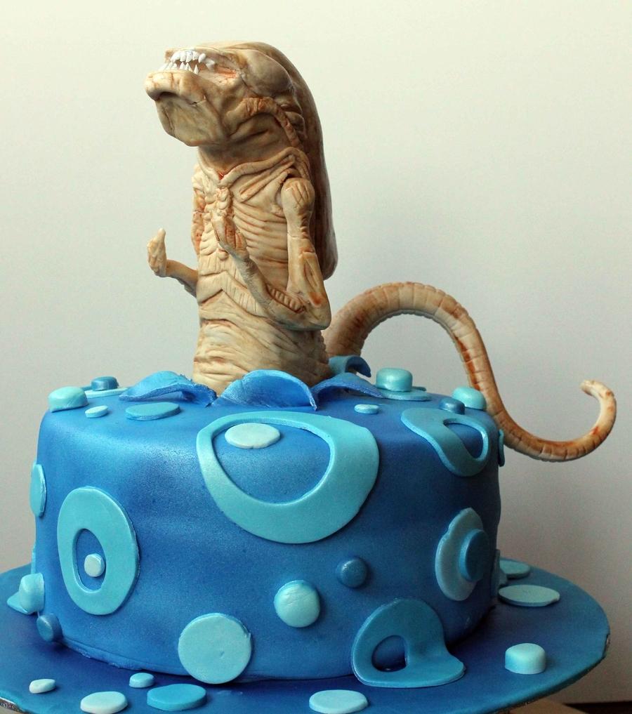 Alien Chestburster Cake Cakecentral Com