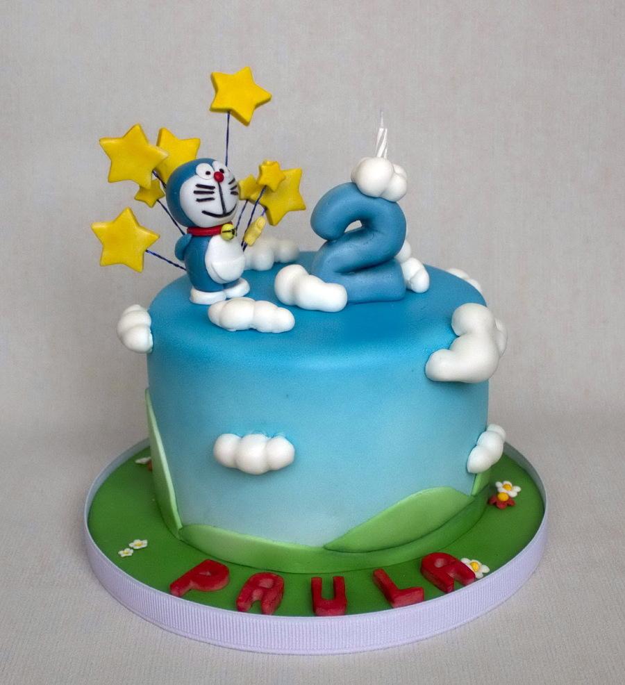 Doraemon Cake Recipe