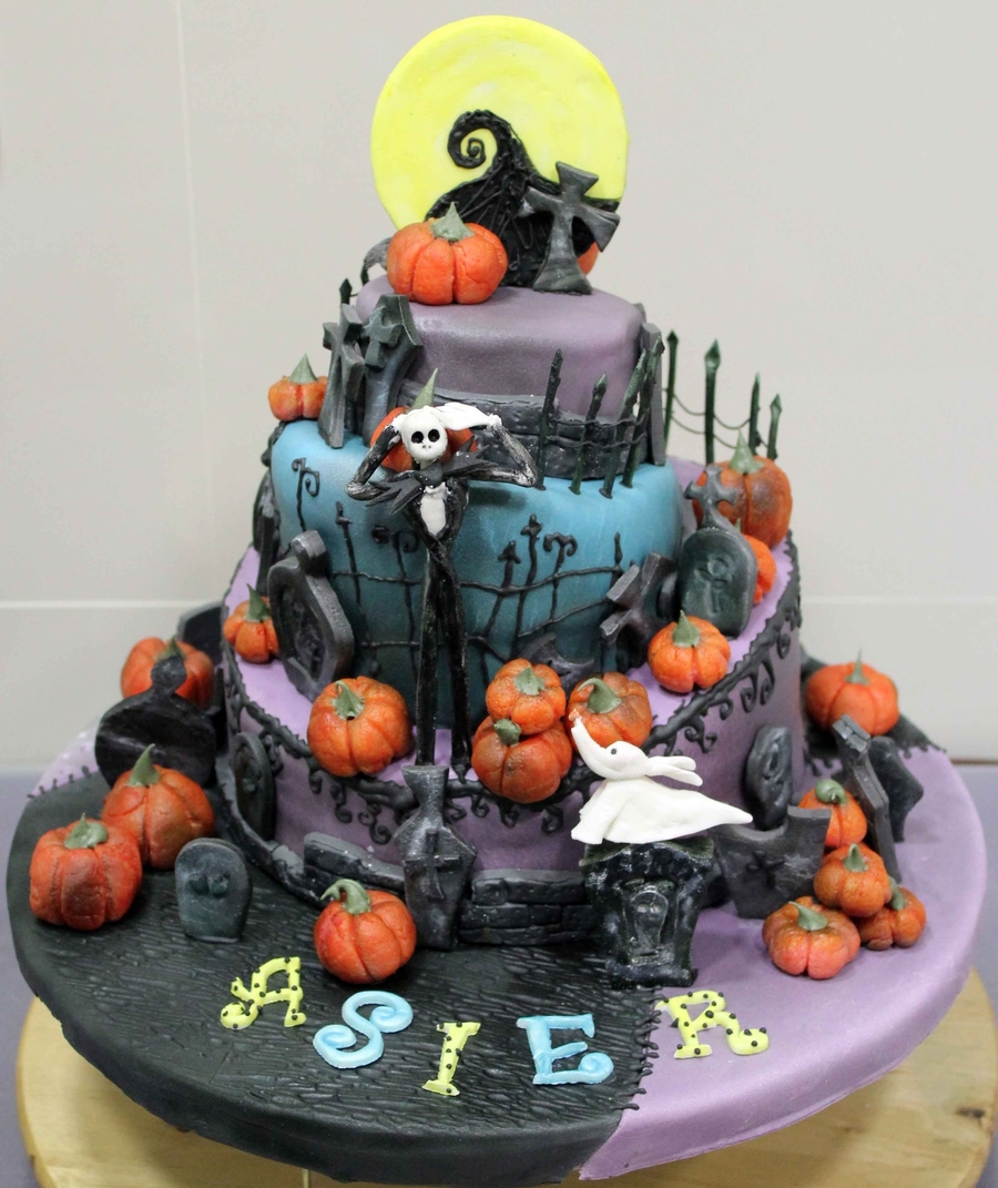 Nightmare Before Christmas Cake Topper Set