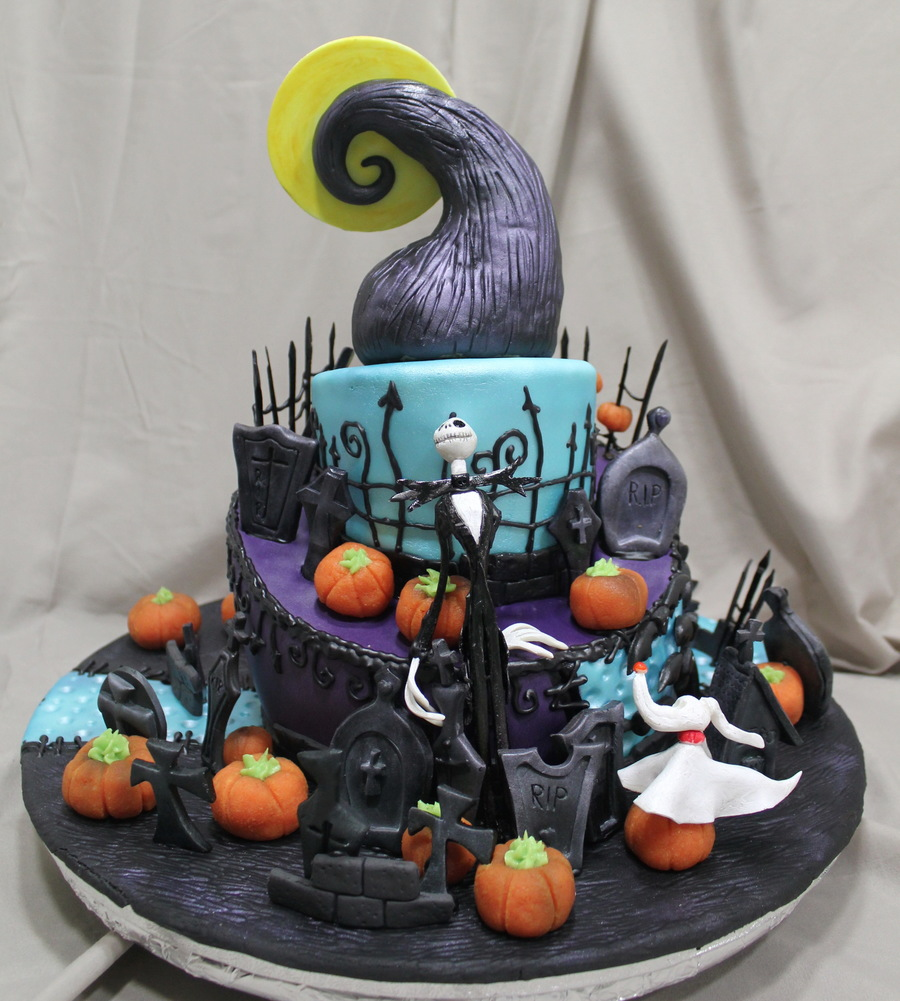 Another Nightmare Before Christmas Cake Cakecentral Com