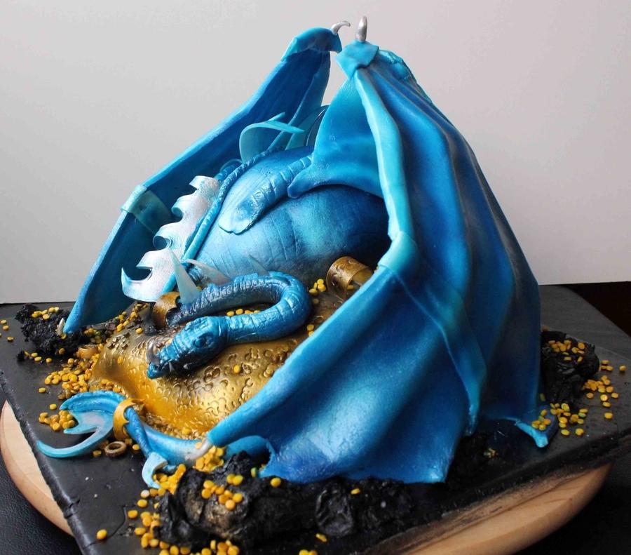 Blue Fondant Cake Recipe