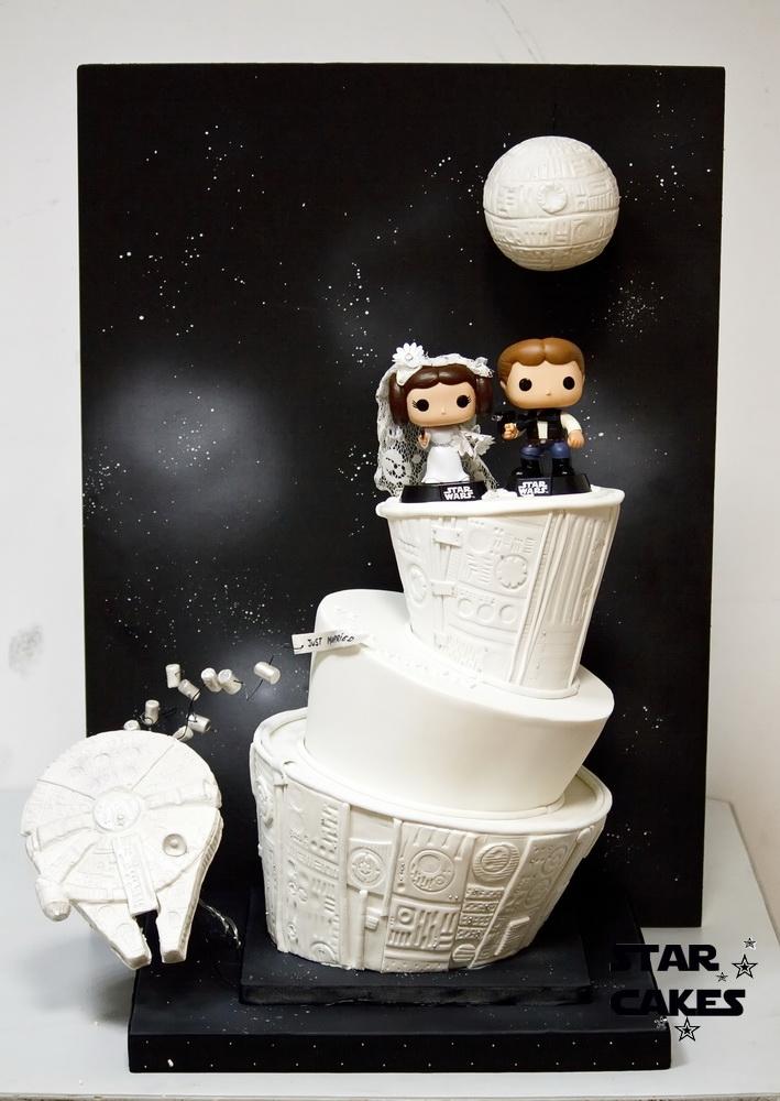 Star Wars Wedding Cake Cakecentral Com