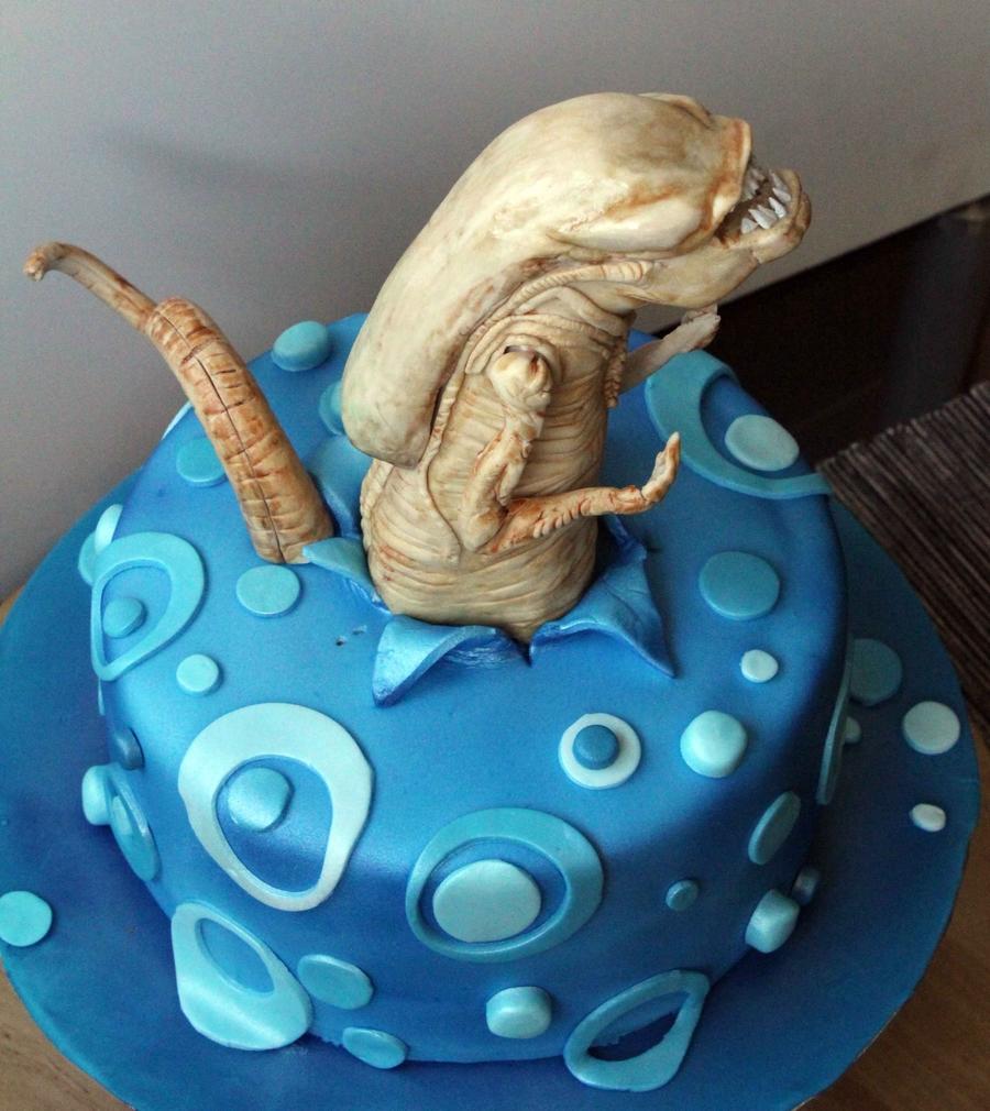 Alien Movie Birthday Cake