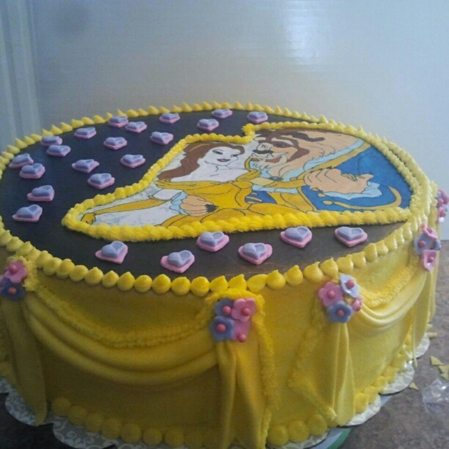 Beauty And Beast on Cake Central