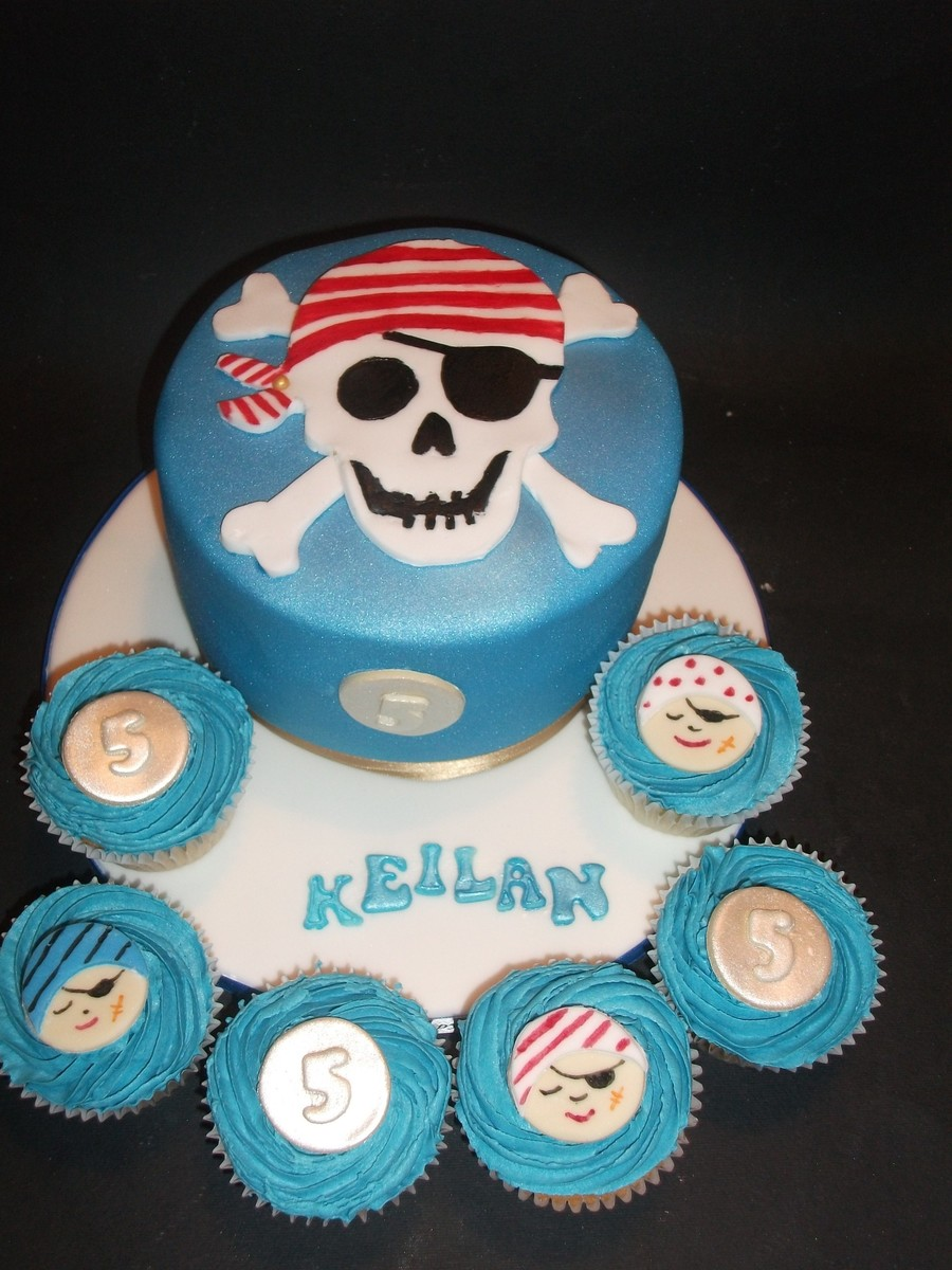 Pirate Party Themed Cake  on Cake Central