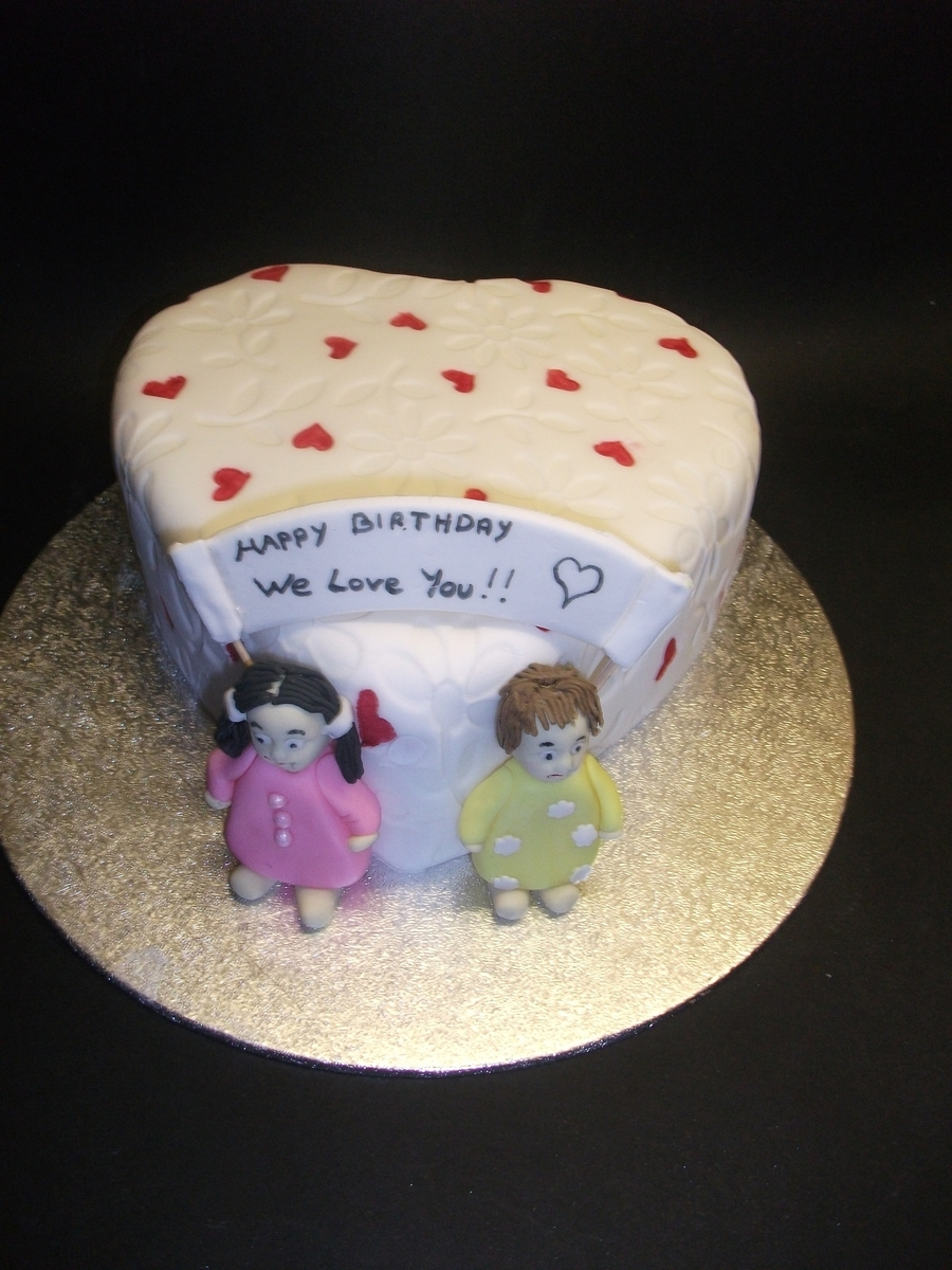 Heart Shaped Birthday Cake on Cake Central
