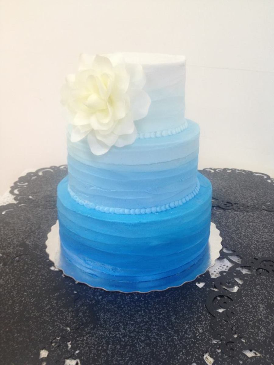 Blue Ombre on Cake Central