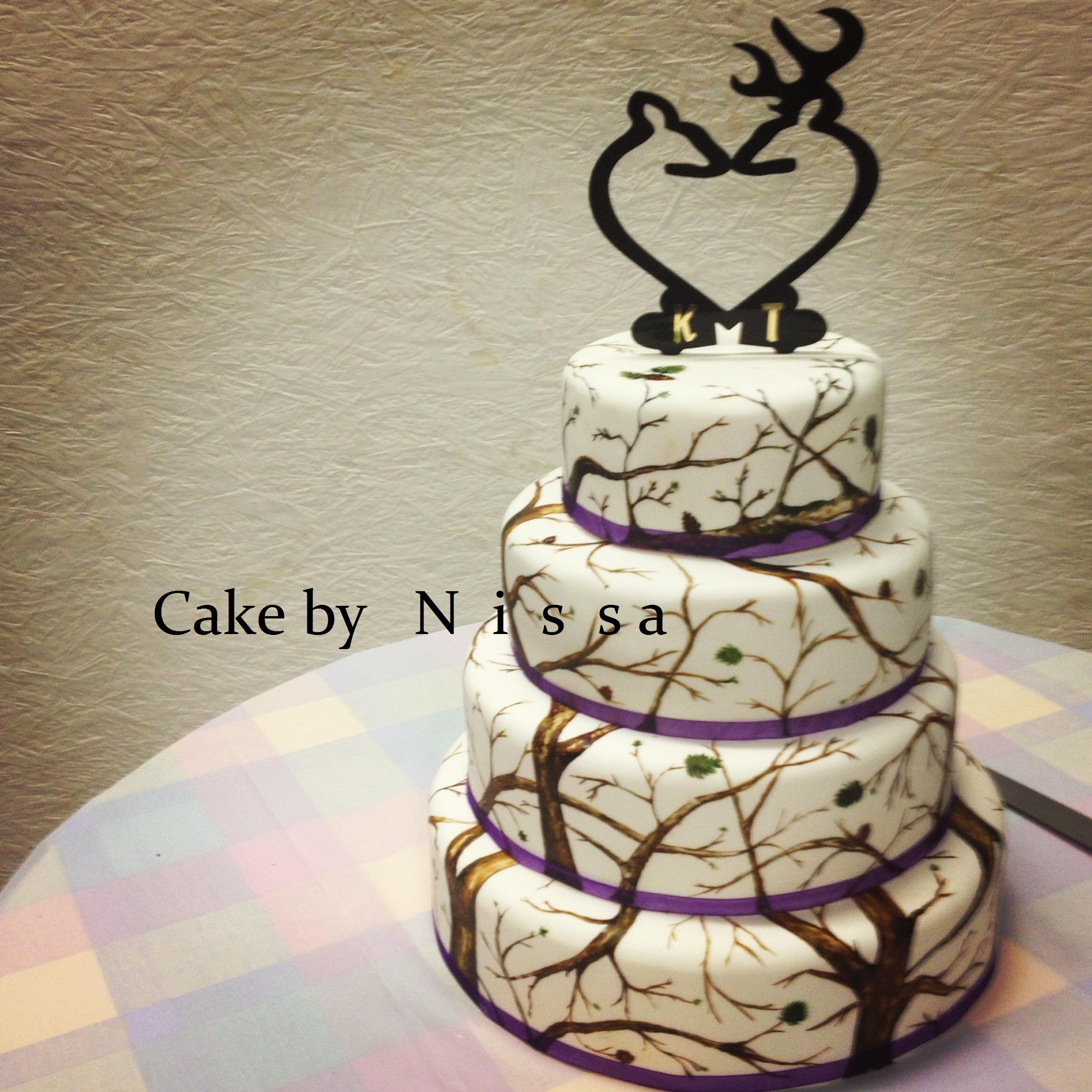 Cake Decorating Central Hours : Camo - CakeCentral.com