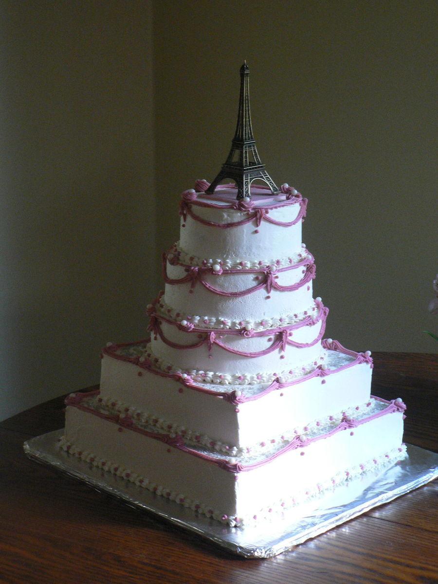 Fantastic Paris Themed Birthday Cake Cakecentral Com Funny Birthday Cards Online Fluifree Goldxyz